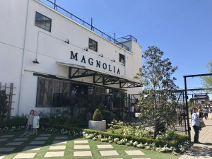 front of magnolia store