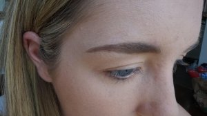brow filled in