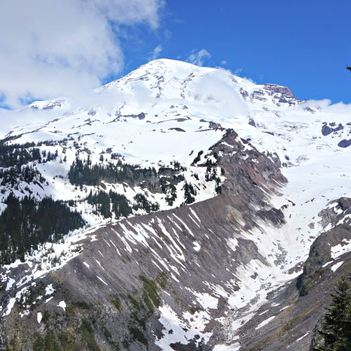 mount rainier glacier