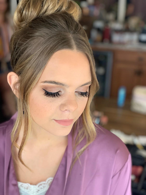 fort wayne wedding makeup girl